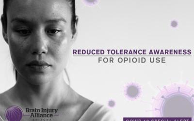 Quarantine, Opioid Dependency, & Reduced Tolerance Alert