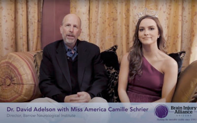 Dr. David Adelson and Miss America on BIAAZ